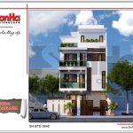 Ngôi biệt thự cao 4 tầng hiện đại sh btd 0040 2