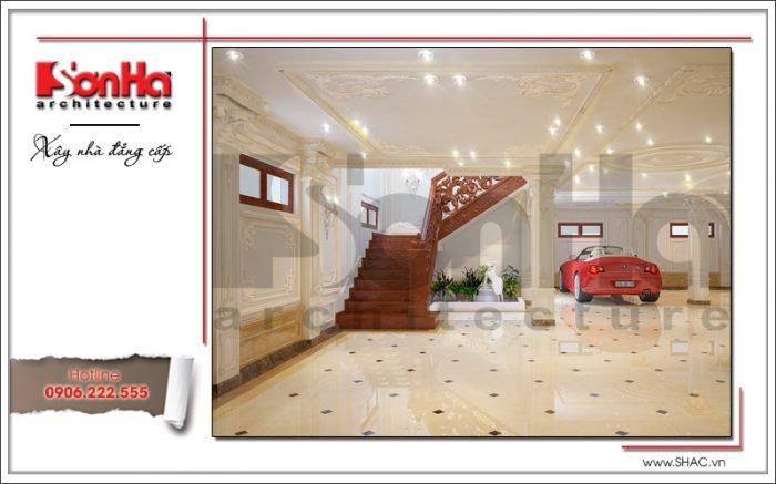 Nội thất tầng hầm biệt thự lâu đài tại Hà Nội sh btld 0025