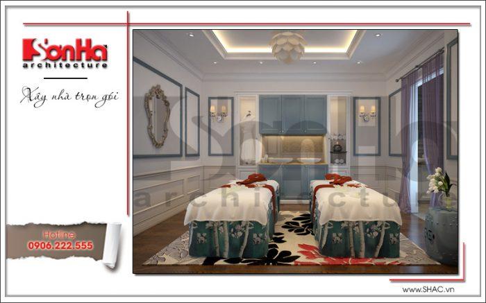 1 Thiết kế nội thất phòng massage đôi karaoke tại vĩnh yên sh bck 0044