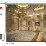 Mẫu thiết kế nội thất phòng xông sục spa tại Phú Quốc sh sp 0006