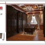 Không gian nội thất phòng ngủ VIP biệt thự lâu đài tại Hà Nội sh btld 0025