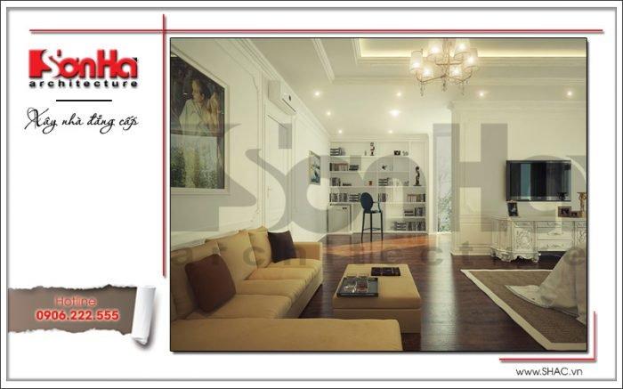 Mẫu nội thất phòng ngủ biệt thự Pháp tại Hà Nội sh btp 0102