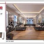 Mẫu thiết kế nội thất phòng tập spa tại Phú Quốc sh sp 0006