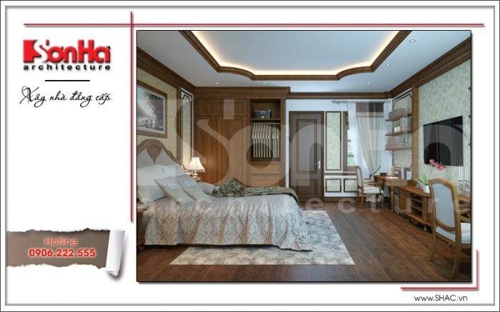 thiết kế mẫu phòng ngủ đẹp năm 2018