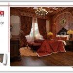 Mẫu nội thất phòng ngủ 2-3 biệt thự lâu đài tại Hà Nội sh btld 0025