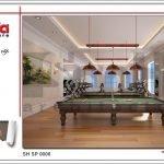 Thiết kế nội thất phòng tập bida spa tại Phú Quốc sh sp 0006