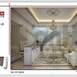 Mẫu nội thất sảnh tầng 2 spa tại Phú Quốc sh sp 0006