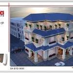 Mẫu thiết kế kiến trúc biệt thự hiện đại tại Quảng Bình btd 0055