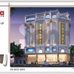Mẫu thiết kế kiến trúc quán karaoke tại Vĩnh Phúc sh bck 0044