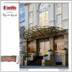 Thiết kế kiến trúc khách sạn 3 sao 12 tầng tại Hải Phòng sh ks 0035