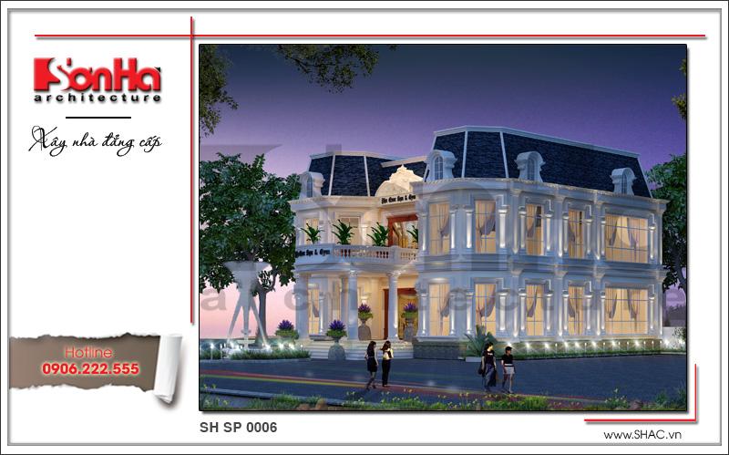 Thiết kế kiến trúc spa tại Phú Quốc sh sp 0006