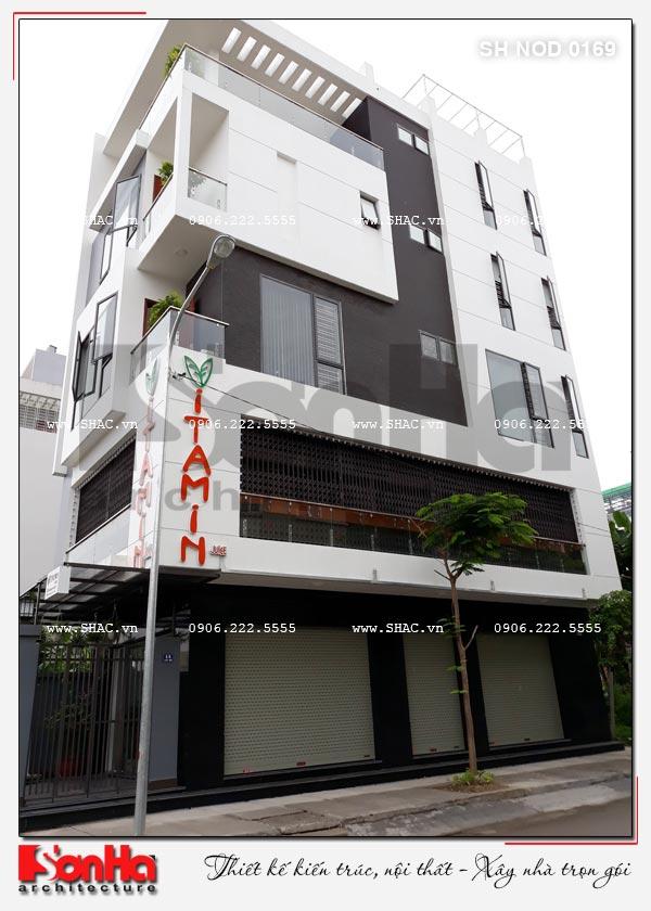 Thiết kế và thi công trọn gói nhà phố hiện đại 5 tầng tại Hải Phòng 2