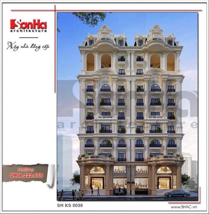 Công trình xây dựng thiết kế và thi công khách sạn tại Đồng Tháp bởi SHAC