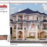 Thiết kế kiến trúc biệt thự tân cổ điển tại Hải Phòng sh btp 0101