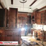 3 Ảnh thực tế thi công nội thất biệt thự lâu đài tại hà nội sh btld 0025
