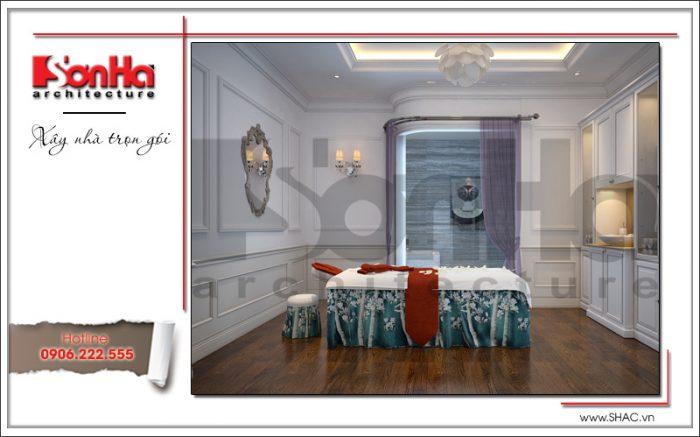 3 Thiết kế nội thất phòng massage đơn karaoke tại vĩnh yên sh bck 0044