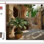 Mẫu thiết kế sân vườn biệt thự lâu đài tại Hà Nội sh btld 0025