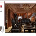 Không gian phòng khách sang trọng biệt thự lâu đài tại Hà Nội sh btld 0025