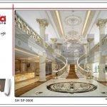Thiết kế nội thất sảnh chính spa tại Phú Quốc sh sp 0006