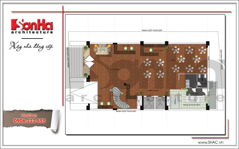 Thiết kế khách sạn cổ điển tiêu chuẩn 4 sao tại Bắc Ninh - KS 0036 5
