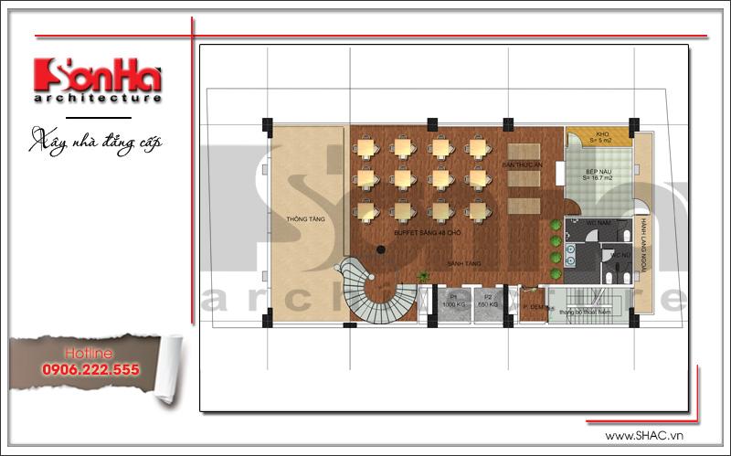 Thiết kế khách sạn cổ điển tiêu chuẩn 4 sao tại Bắc Ninh - KS 0036 7
