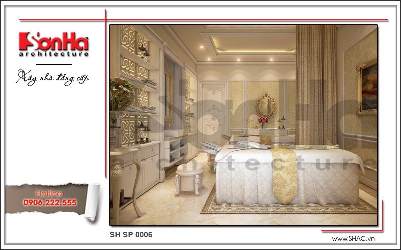 Mẫu thiết kế nội thất phòng spa tại Phú Quốc sh sp 0006