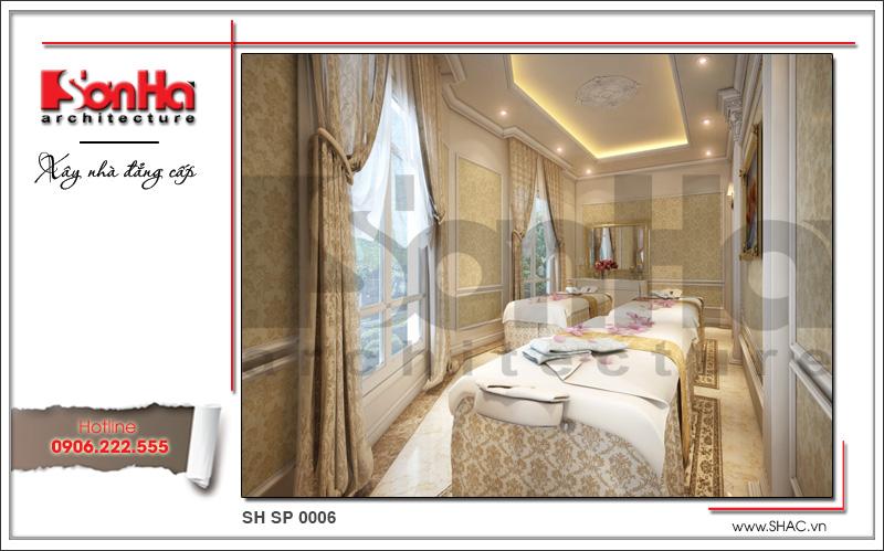 Thiết kế nội thất phòng spa tại Phú Quốc sh sp 0006