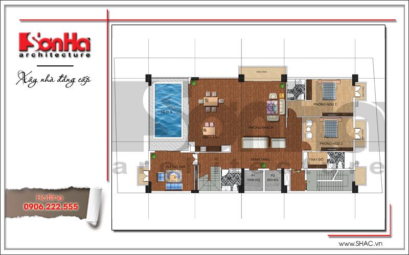 Thiết kế khách sạn cổ điển tiêu chuẩn 4 sao tại Bắc Ninh - KS 0036 10