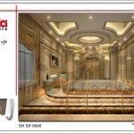 Thiết kế nội thất phòng xông sục spa tại Phú Quốc sh sp 0006