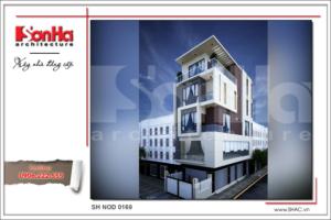 BÌA Thiết kế kiến trúc nhà ống hiện đại tại Hải Phòng sh nod 0169