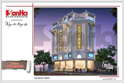 BÌA Thiết kế kiến trúc quán karaoke tại Vĩnh Phúc sh bck 0044