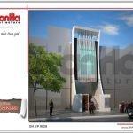 Thiết kế kiến trúc tòa nhà văn phòng tại Hải Phòng sh vp 0028