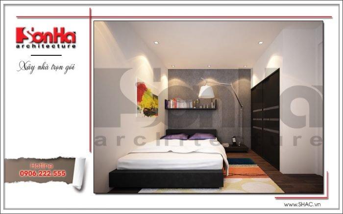 Thiết kế nội thất phòng ngủ văn phòng tại Hải Phòng sh vp 0028