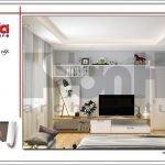 Mẫu thiết kế phòng ngủ con trai biệt thự tân cổ điển tại Hải Phòng sh btp 0104