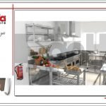 Thiết kế nội thất phòng bếp khách sạn tại Quảng Ninh sh ks 0037