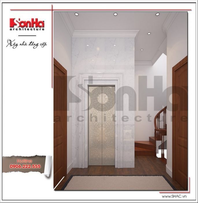 Thiết kế nội thất hành lang tầng 2 Vincom Shophouse tại Hải Phòng