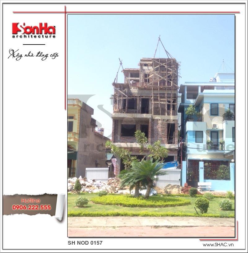 Sự thành công của mẫu thiết kế thi công biệt thự nhà phố có yếu tố chống thấm