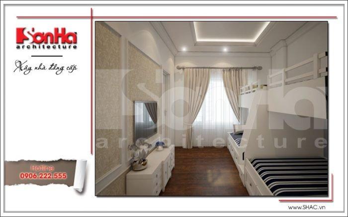 Thiết kế nội thất phòng ngủ khách Vincom Shophouse tại Hải Phòng