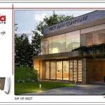 Thiết kế kiến trúc văn phòng hiện đại tiện nghi tại Lào sh vp 0027