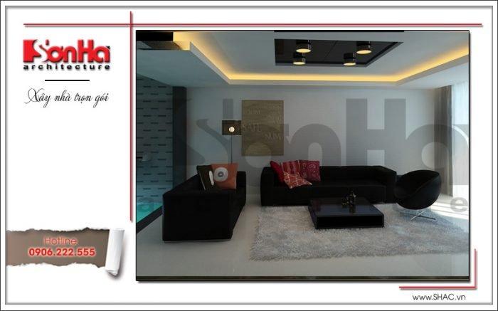 Thiết kế nội thất phòng khách văn phòng tại Hải Phòng sh vp 0028