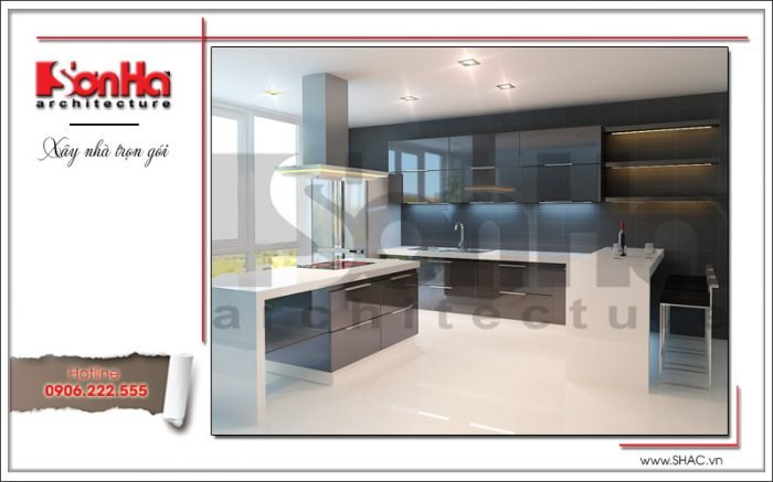 Thiết kế nội thất phòng bếp văn phòng tại Hải Phòng sh vp 0028