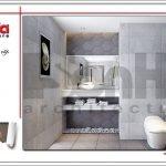 Thiết kế wc phòng ngủ bố mẹ biệt thự tân cổ điển tại Hải Phòng sh btp 0104