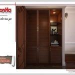 Thiết kế nội thất phòng ngủ khách sạn tại Quảng Ninh sh ks 0037