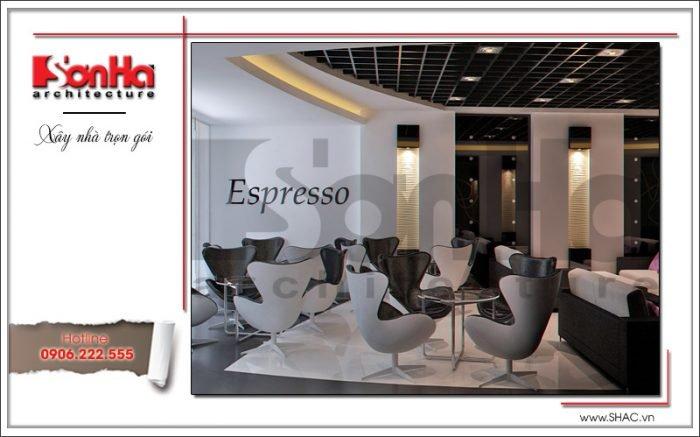 Thiết kế nội thất quầy cafe văn phòng tại Hải Phòng sh vp 0028