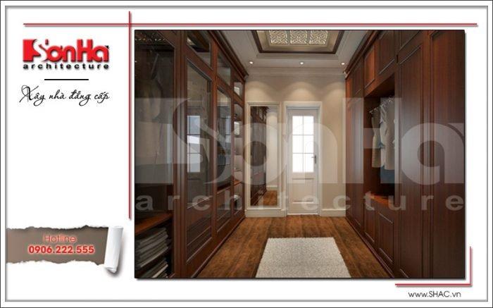 Thiết kế nội thất phòng thay đồ Vincom Shophouse tại Hải Phòng