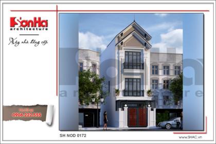 BÌA Thiết kế nhà phố hiện đại tại Hải Phòng sh nod 0172