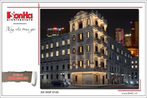 BÌA Thiết kế kiến trúc nhà ống Pháp tại Hà Nội sh nop 0143