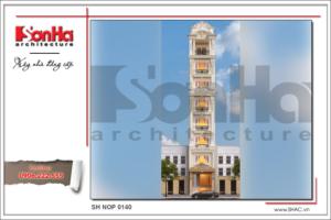 BÌA Thiết kế kiến trúc nhà ống kiến trúc Pháp tại Hà Nội sh nop 0140