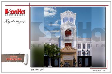 BÌA Thiết kế nhà ống cổ điển tại Quảng Ninh sh nop 0141