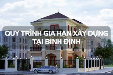 Thủ tục gia hạn giấy phép xây dựng biệt thự và công trình tại Bình Định 14